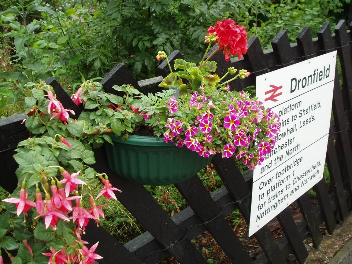 Summer Changes at Dronfield Station